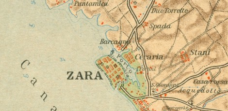 Changes of family names in Zadar city and Lastovo island