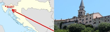 Register of births, marriages and deaths for Buzet area